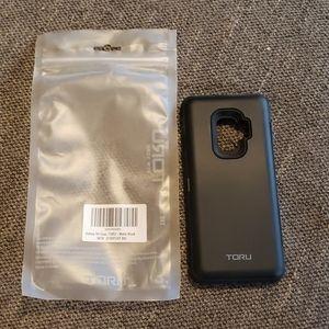 Toru - Samsung Galaxy S9 Case Black